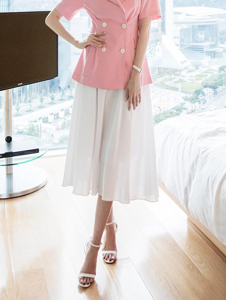 SK1908 FUAS Linen pull Skirt (18reorder)