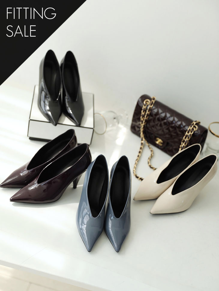PS1596 Pointed feminine High heels * Fitting Sale *