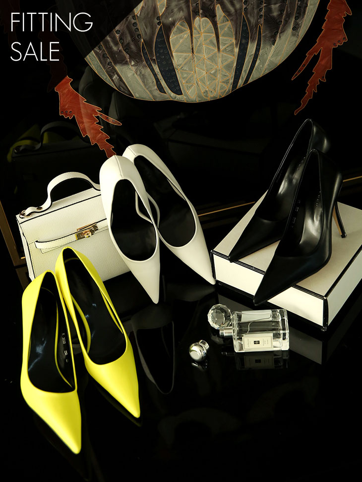PS1597 Sharp Pointed High heels * Fitting Sale *