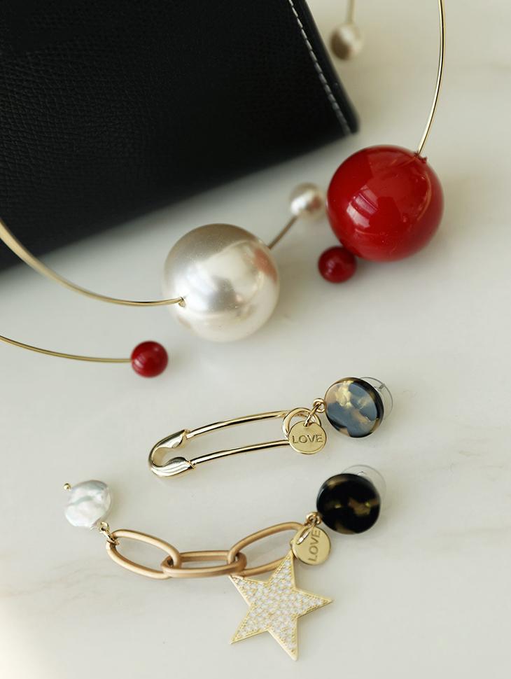 AJ-4217 earring