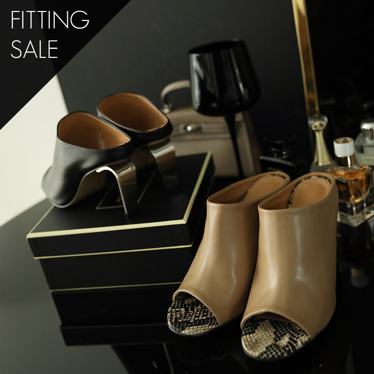 PS1607 Mis Bell Snake Silver Mule * Fitting Sale *