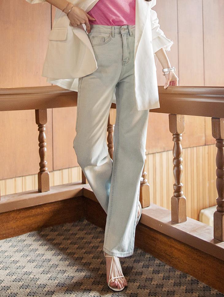 PJ365 Maiden Basic denim Pants * L size making * (3reorder)