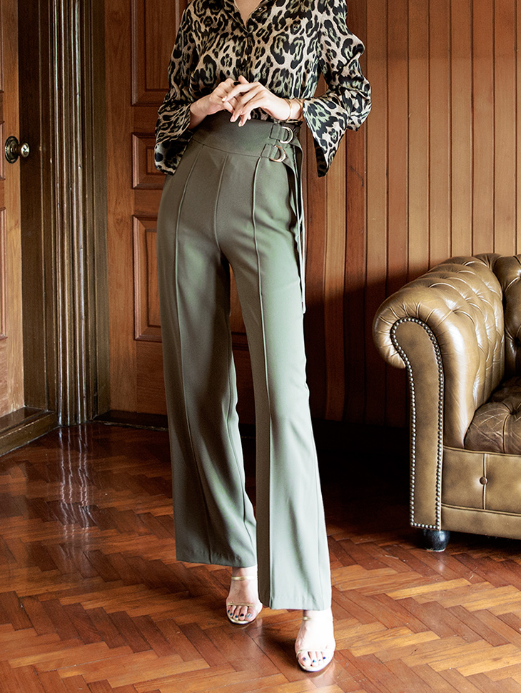 P2121 two ring Gold Slacks Pants (3rd REORDER)