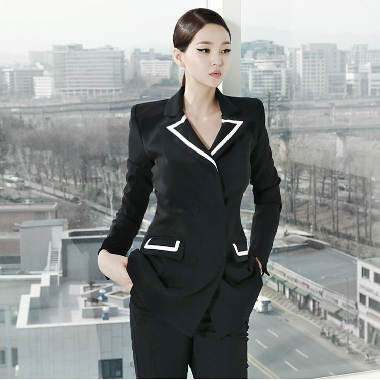 J-4508 Line Arrangement of colors Tailored Jacket (28th REORDER)