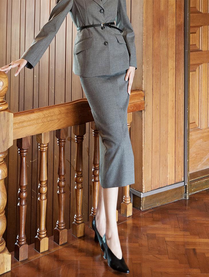 SK1924 Standard Formal Line Skirt