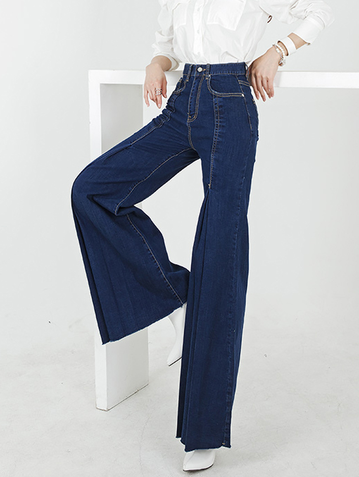 PJ385 Tri Denim longish Pants (6th REORDER)