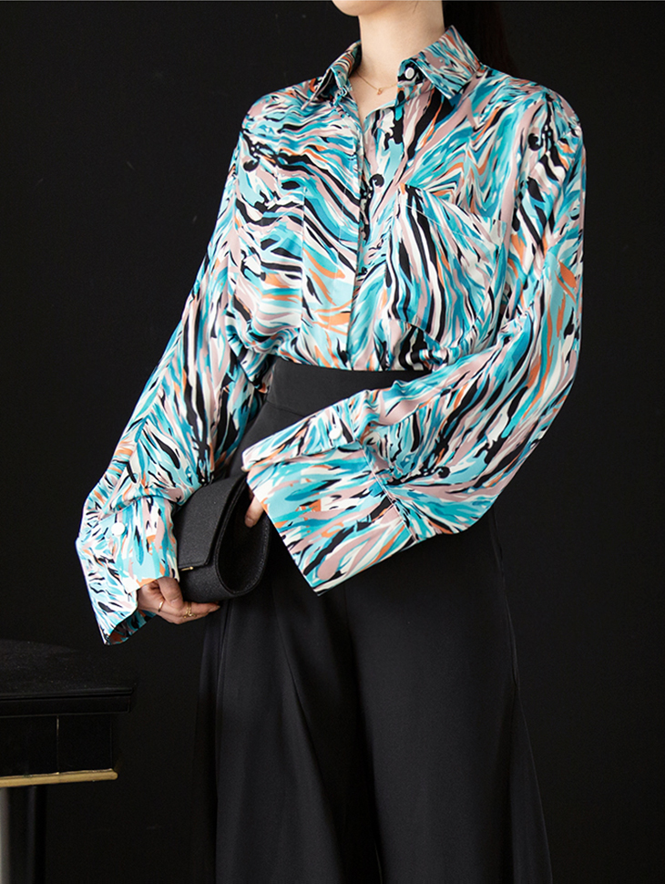 B9026 Soyor Color mix Blouse (3th REORDER)