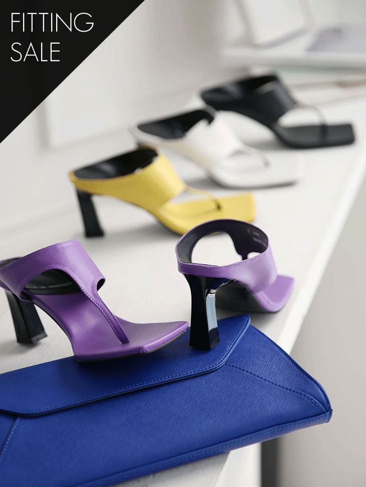 PS1636 Grendel Vivid Square High heels *fitting sale*