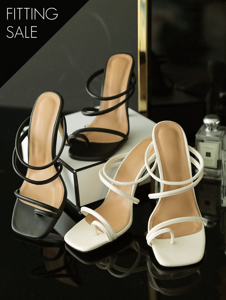 PS1642 String High heels Mule * Fitting Sale *