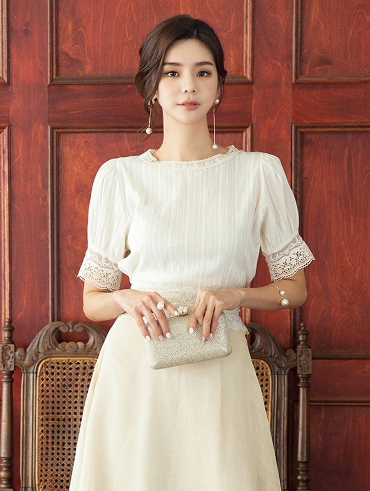 B2459 Atel Lace Blouse (6th REORDER)