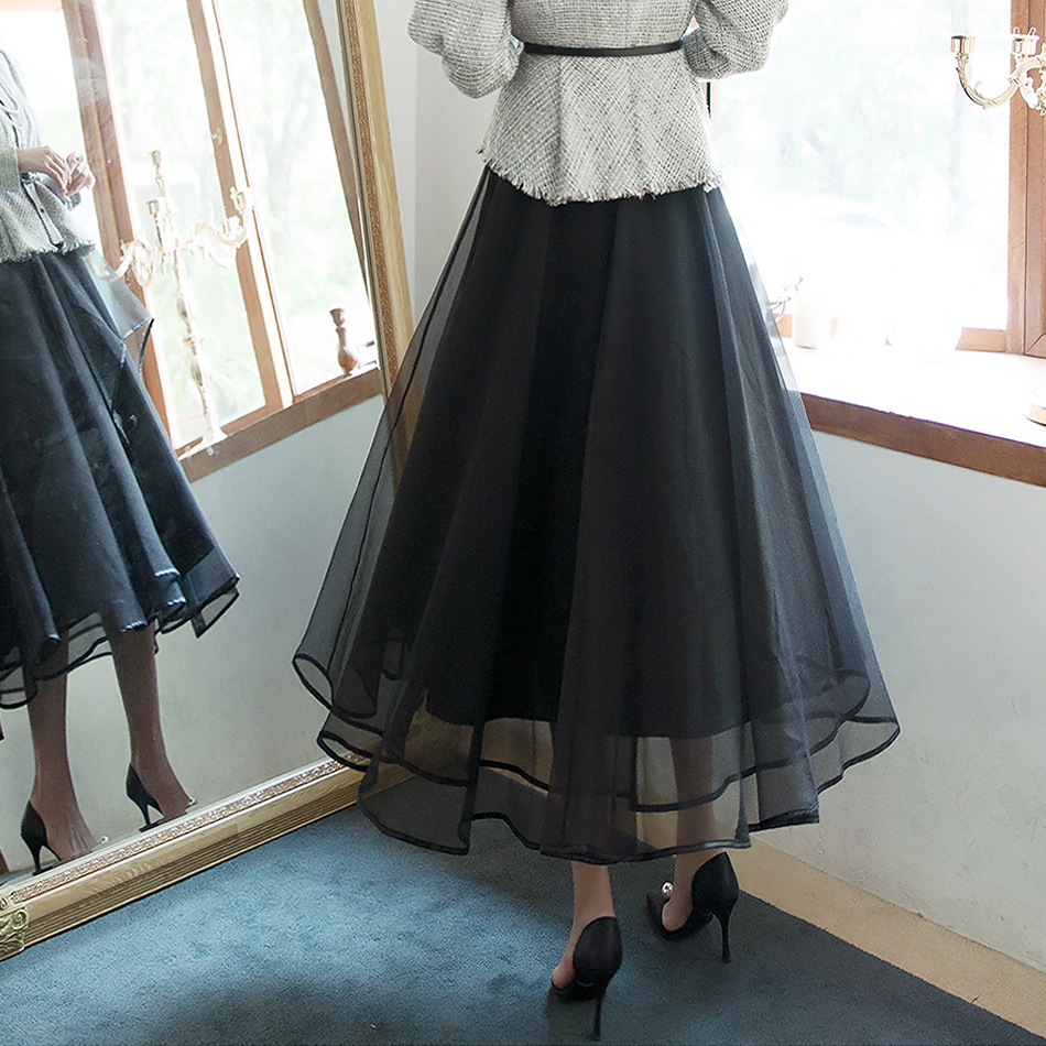 SK1938 Leen Volume Xia Maxi Skirt (6th order)