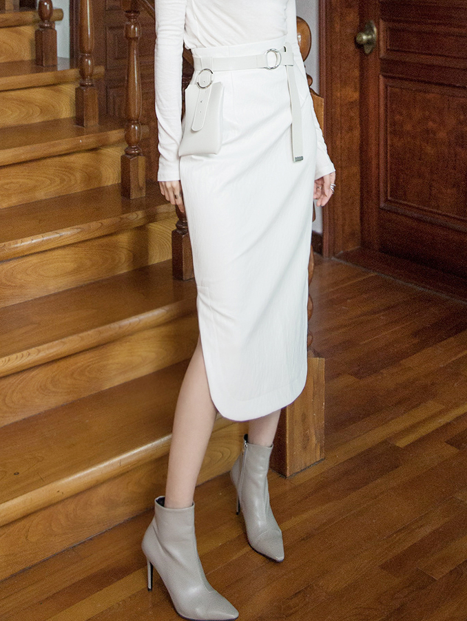 SK1944 AEL Round Leather Skirt (3rd REORDER)