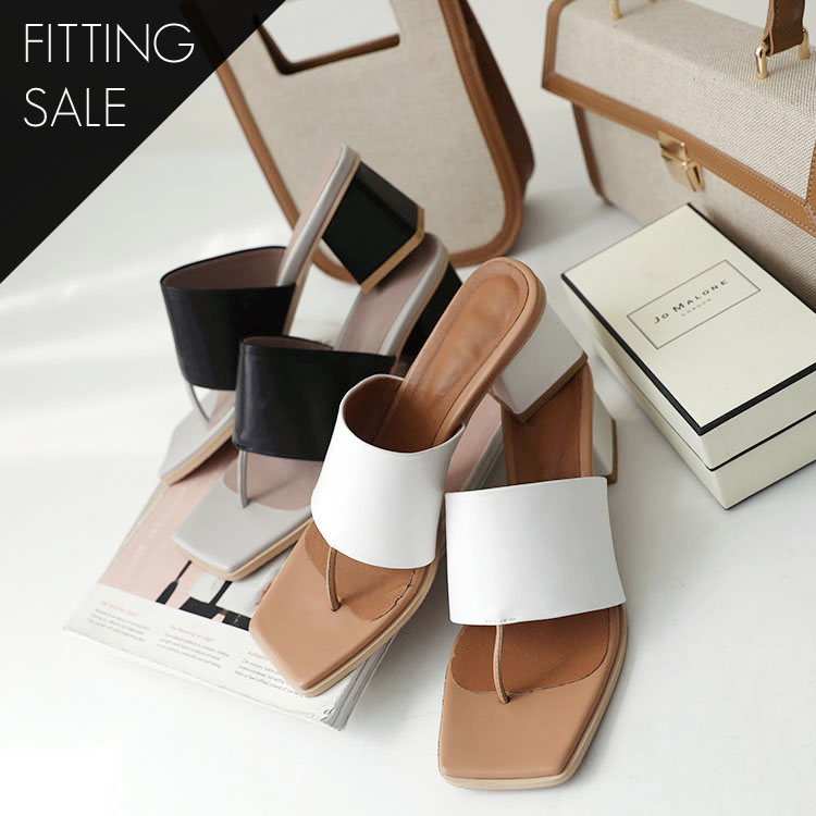 PS1652 Mage Strap Middle heel * Fitting Sale *
