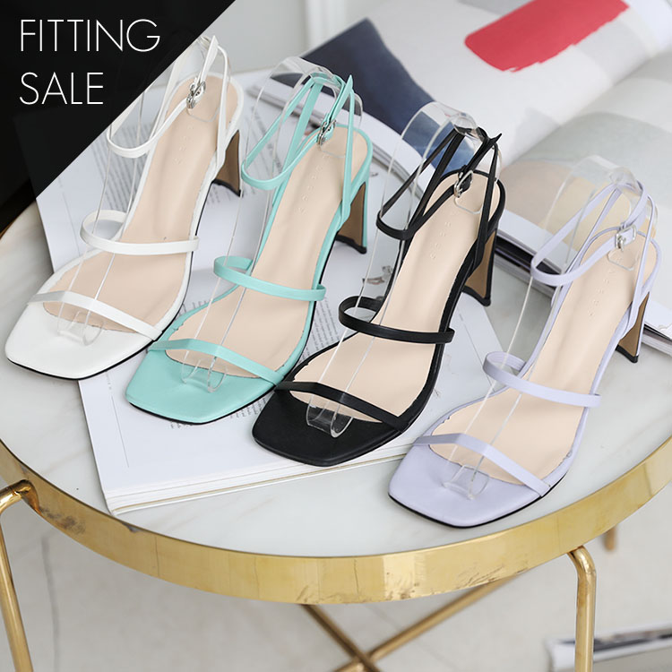 PS1657 Oliver Square Strap Heel * Fitting Sale *