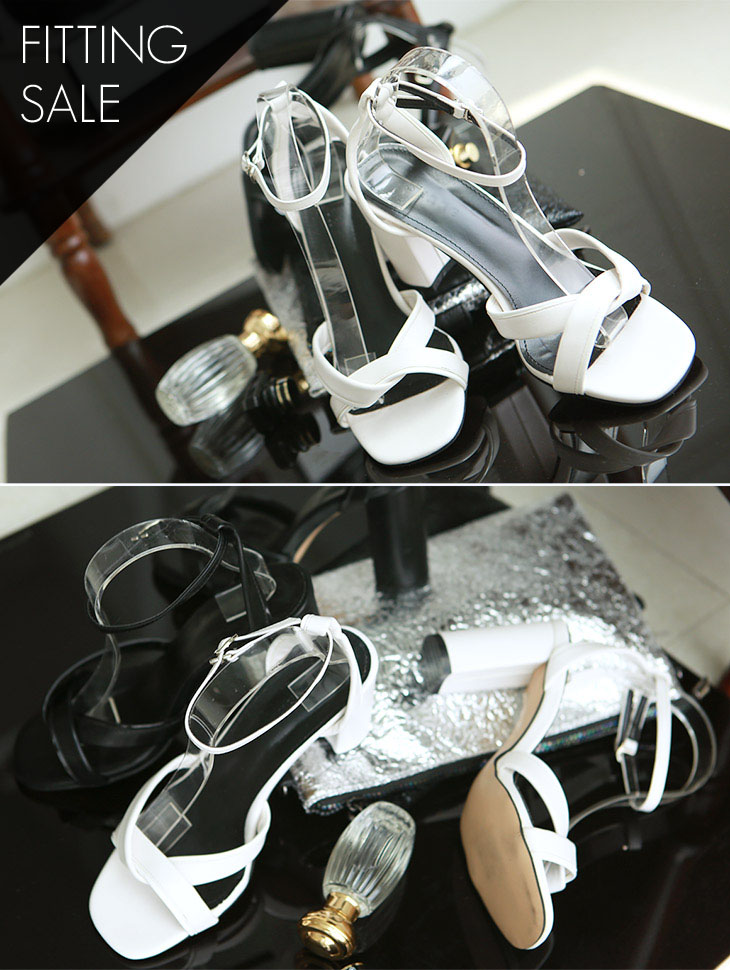 PS1661 Serenity Cross Twist High heels * Fitting Sale *