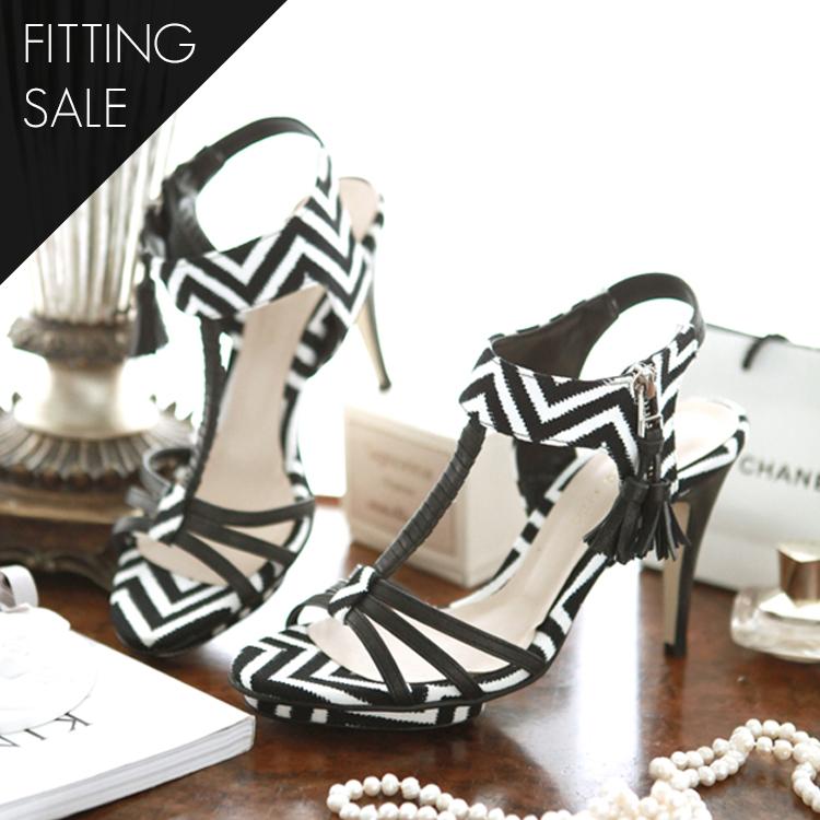 PS1692 Arrangement of colors heel * hand made * fit sale *
