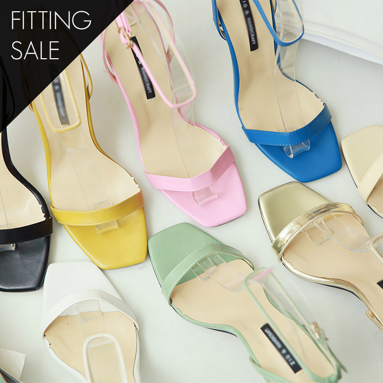 PS1693 Nila Barriers Color Strap Heel