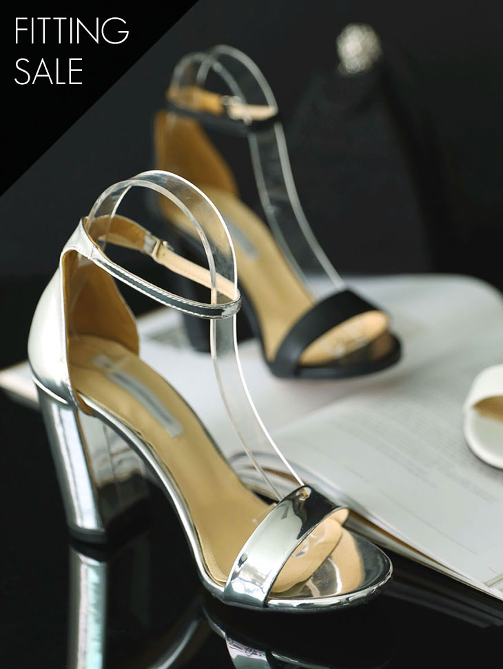 PS1695 Maily Ankle Strap High heels