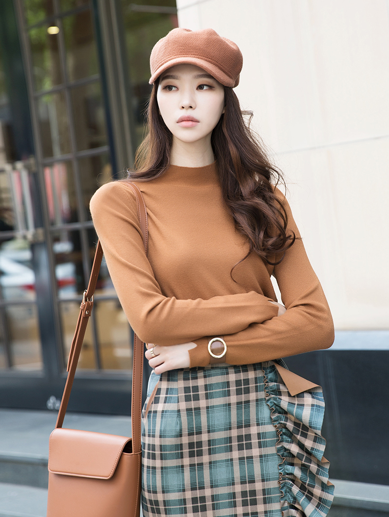 E2055 Anna Basic Turtle neck Top (14th REORDER)