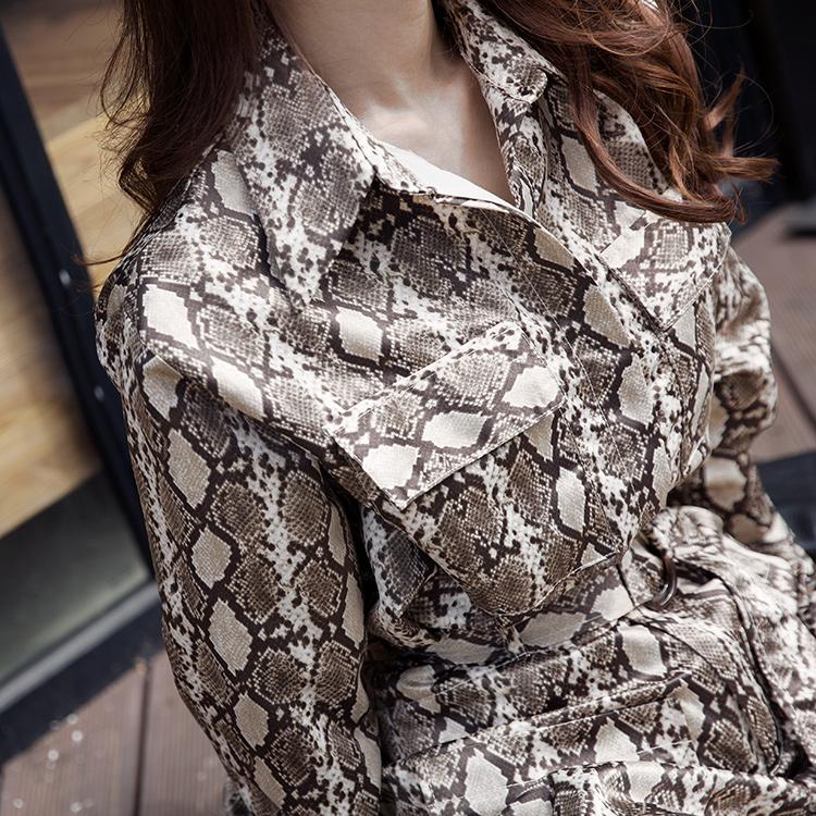 S336 Chlorine Phyton Pattern Shirt