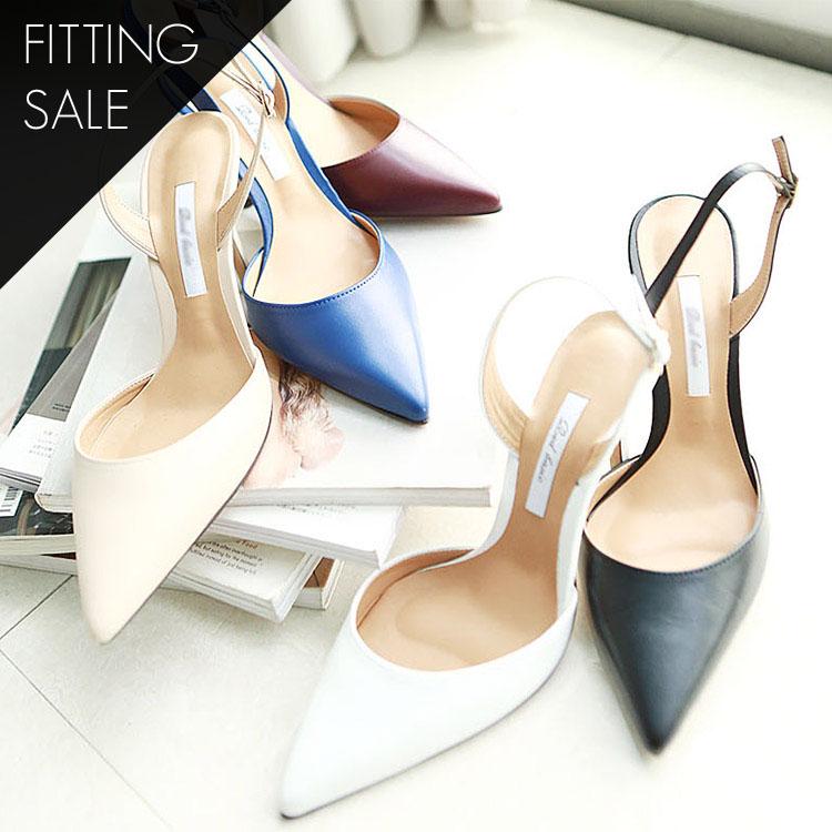 PS1700 Bering Stiletto Sling backs * Fitting Sale *