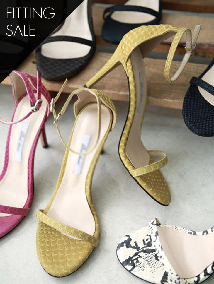 PS1701 Venice Open Toe Strap Heel * Fitting Sale *