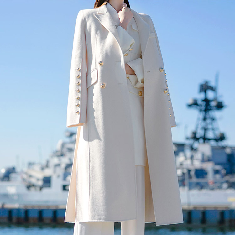 J-5104 Retail Button Trimming Coat (12th REORDER)