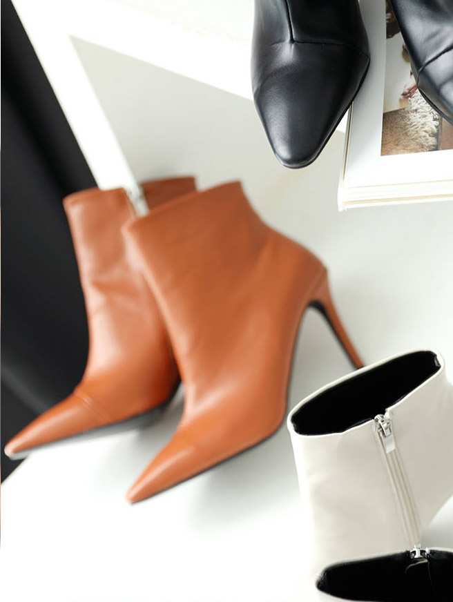 AR-2373 Harper Ankle Boots Heel