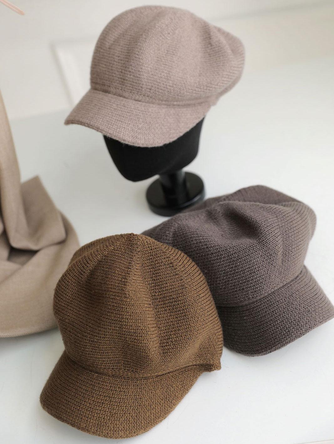 AC-565 Warm Soft Knit Ball Cap