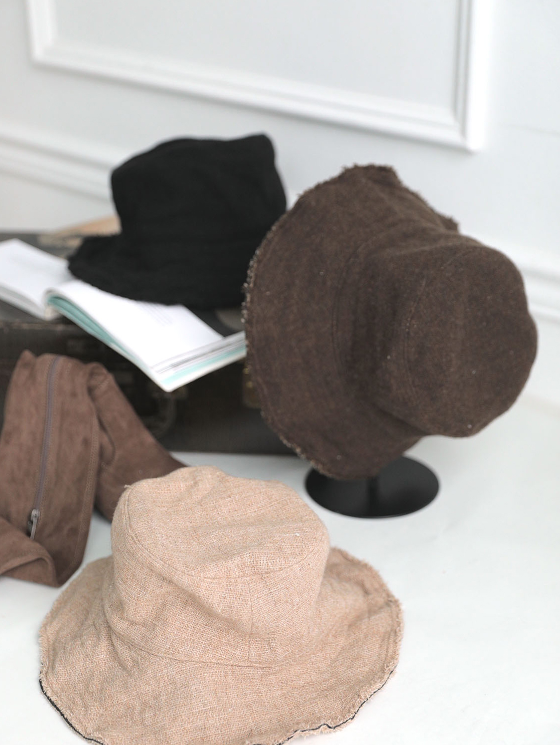 AC-561 Andrea Wool bucket hat