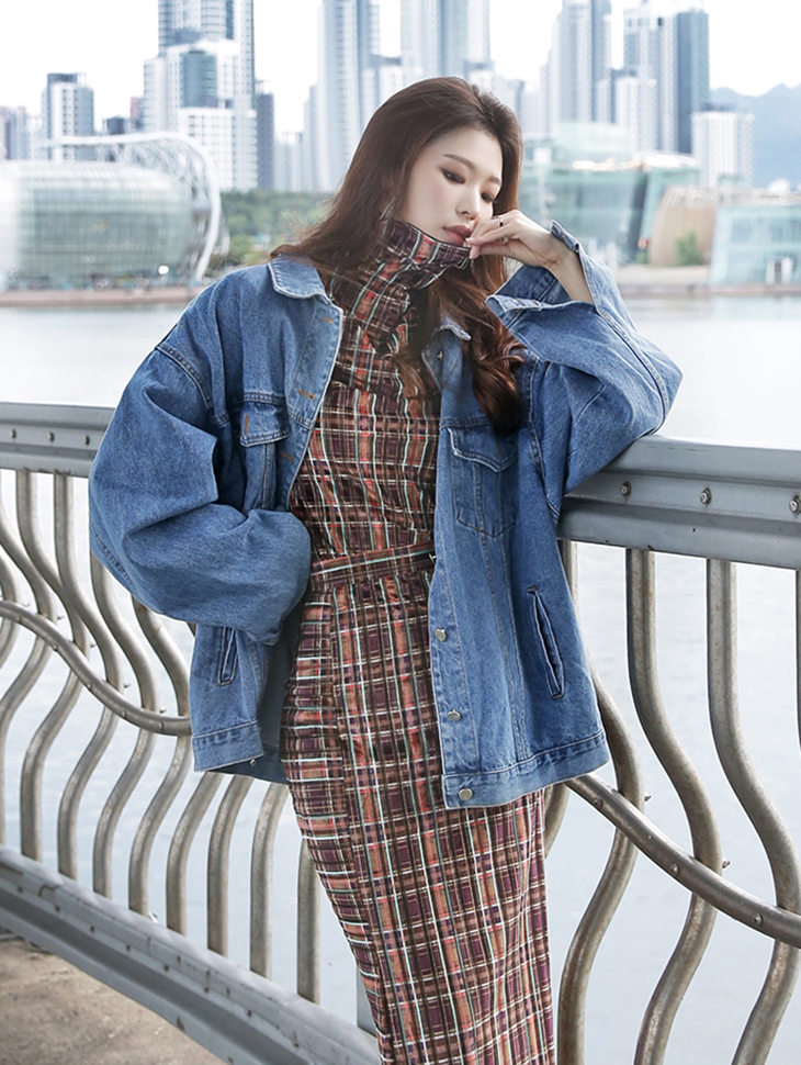 J778 Splan Over Denim Jacket