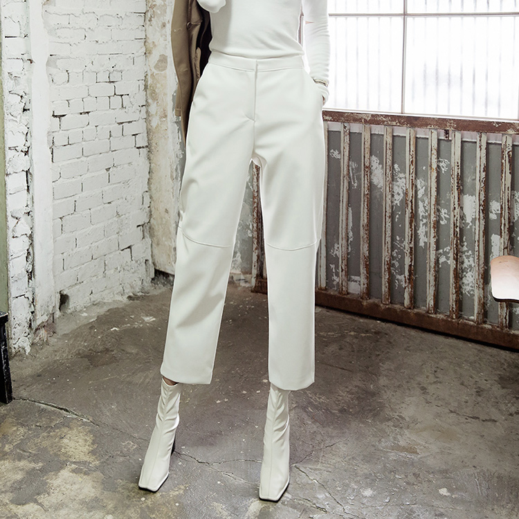 P2169 Lawson wide Leather Pants (6th order)