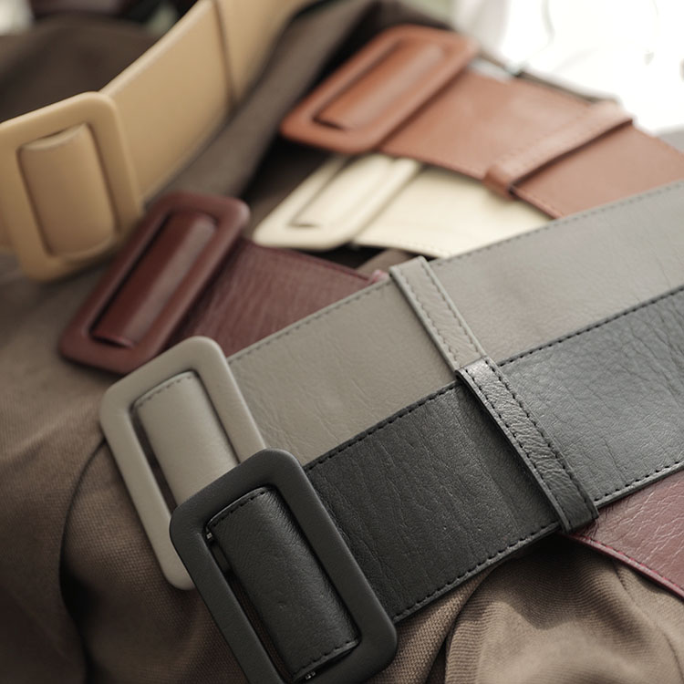 AT-322 wide Leather Belt