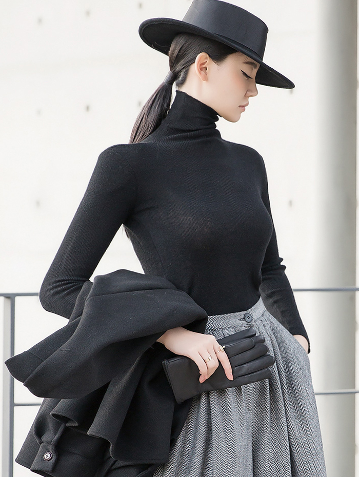 E2099 Nature turtleneck Top (6th order)