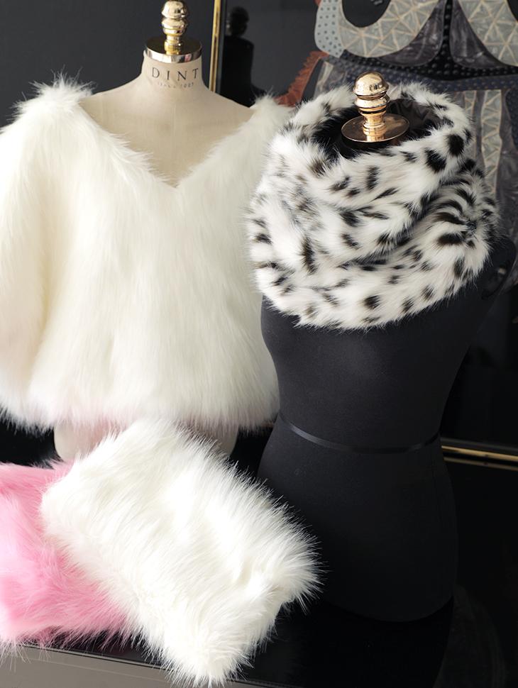 AS-9000 Triwin Fake Fur Warmer