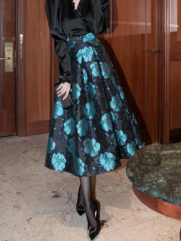 SK1992 Orlia Flower Skirt
