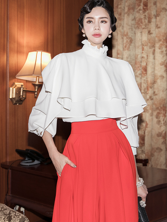B2530 Future 2WAY Blouse (capeSET) (3rd REORDER)