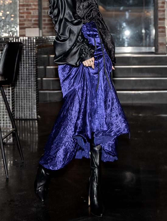 SK1991 Feren Shirring Skirt