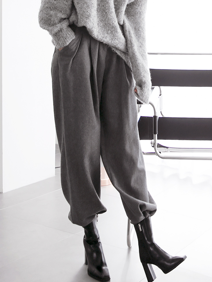P2193 Lumien wide wool Pants