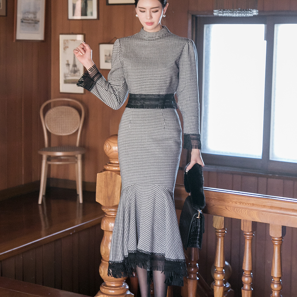 TP1037 Beth Check mix Braid two-piece (3rd REORDER)