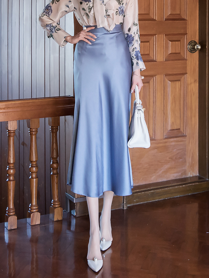 SK2011 Weron Pearl flare Skirt