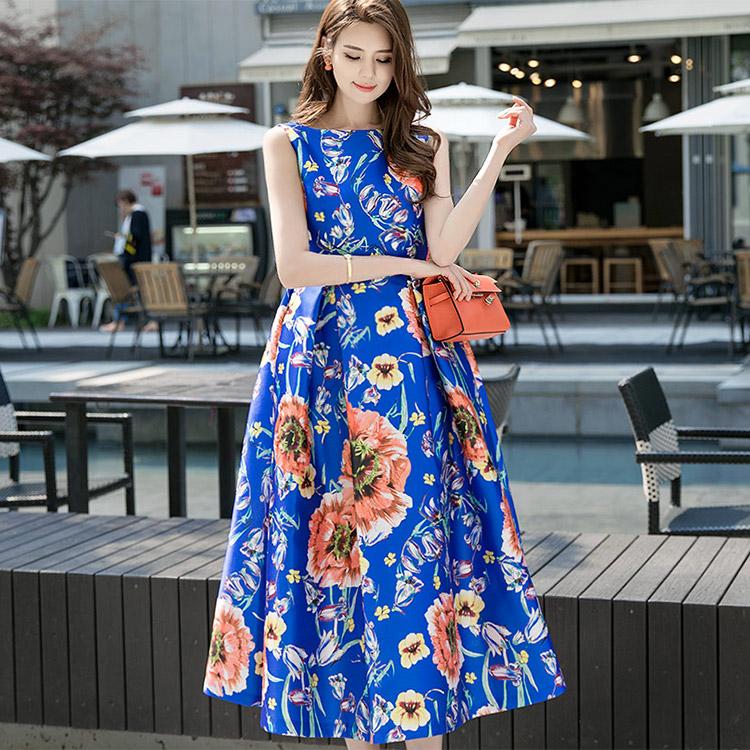 D9005 Flower Joey Volume Dress