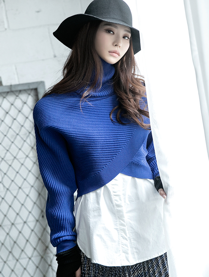 E2150 Gemini Layered Knit Top (Inner SET) (6th REORDER)