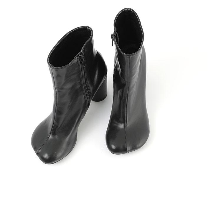 AR-2384 Cloud Leather Ankle Heel