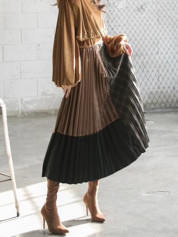 SK2017 Akoki pleats Skirt