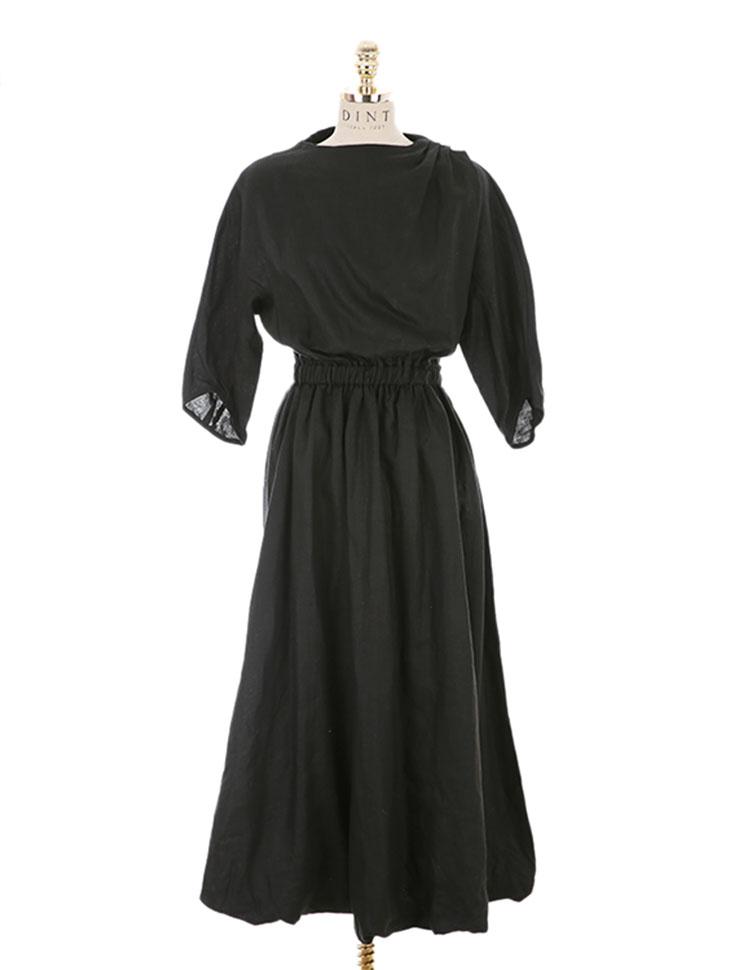 D-4506 Spring Banding Dress