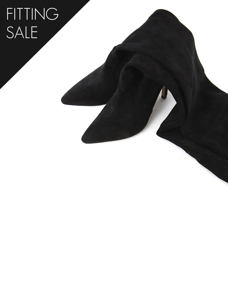 PS1763 Roy over knee High Shami Boots heel * fitting sale *