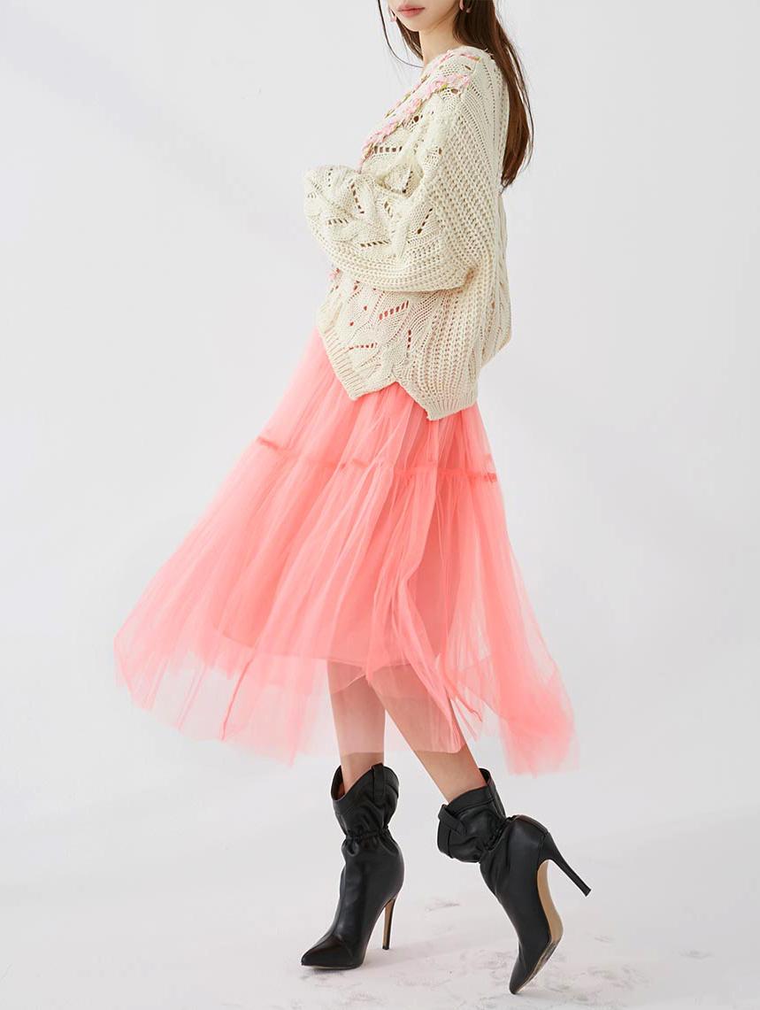 SK2029 Roian Neon Color Xia Skirt