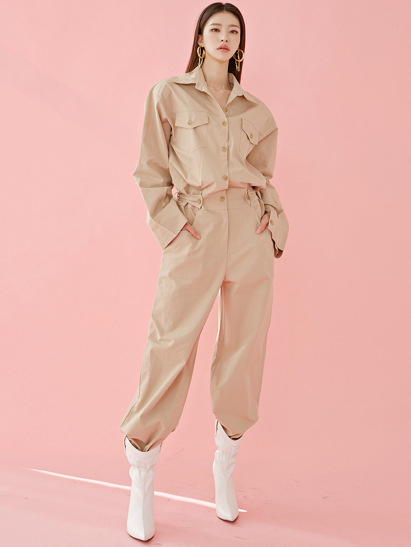 D3979 보일 stylish jumpsuit(5th REORDER)