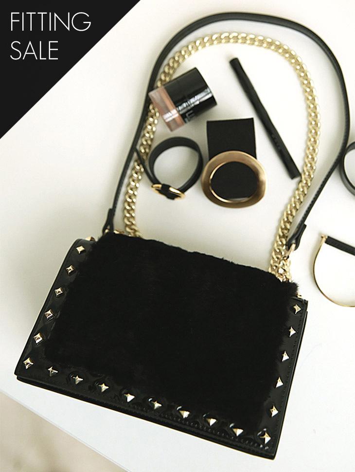 PS1783 페르시안 Gold Chain Bag*피팅세일*